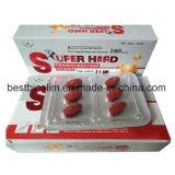 Tablettes mâles de sexe de perfectionnement de pillule dure superbe de sexe