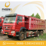 Sinotruk usado HOWO transporta 10 boas condições do caminhão de descarga 6X4 do Tipper das rodas para África