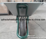 ロシアの市場の大きい容量のための大きい容量の深い皿及び耐久の手押し車Wb6418