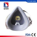 Het chemische Masker van het Ademhalingsapparaat van het Gas met de Enige Patroon van de Filter