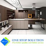 Cabina de cocina de los muebles de la chapa y de la cabina del color del blanco gris (ZY 1183)