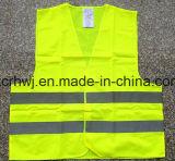 Самая лучшая продавая тельняшка безопасности изготовления на заказ ANSI ISO 20471/En безопасности Vest/Ce/дешевого полиэфира отражательная/тельняшка безопасности движения хорошего цены цветастая