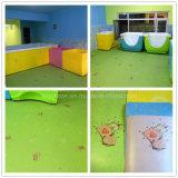 Pavimentazione dell'interno dei bambini del PVC del pavimento variopinto del vinile