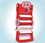 Cmyk Custom Printing Carton Paper Stand Up Display pour chocolat