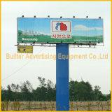 Het openlucht Aanplakbord van Trivision van de Legering van het Aluminium van de Advertentie