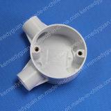 Caja circular L manera del PVC