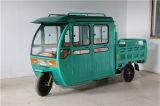 Triciclo cerrado, triciclo eléctrico de 3 ruedas para la venta