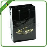 Shining черные бумажные мешки с логосом