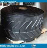 Industriële Op zwaar werk berekende RubberTransportband