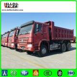 Sinotruk HOWO 25m3 덤프 트럭 371HP 디젤 엔진 무거운 쓰레기꾼 팁 주는 사람 트럭
