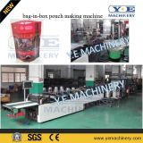Red Wine를 위한 Valve Sealing를 가진 자동적인 Bib Pouch Making Machine