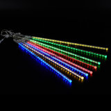 50 Cm Solar Power LED Meteor Sneeuwval Kerstmis Tube Set Lights