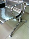茶表で耐久性のあるステンレス鋼2人掛けウェイティングチェア(YA-80)