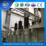 110kV in olie ondergedompelde winding drie, ontlaadt voltageregelgeving de Transformator van de Macht