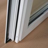 高品質の粉上塗を施してある白いカラー熱壊れ目のアルミニウムプロフィールの日除けのWindows、三重ガラスKz168