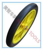 Pneumático de borracha pneumático da bicicleta da roda com borda plástica