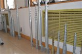 De uitstekende Stapel van het Staal van de Kwaliteit Q235 Spiraalvormige voor Omheiningen