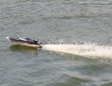 2,4 GHz High Speed 50 km / H Yacht RC Racing Boote mit Brushless Motor