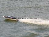 50km 2,4 GHz de alta velocidad / H Racing barcos Yate RC con motor sin escobillas