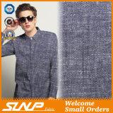 Tela viscosa de lino de la gata para la materia textil y la camisa caseras