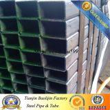 Tubo de acero de la casilla negra de Q235/Ss400/St37/S275jr