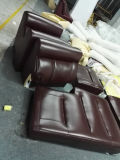 Sofá novo de Recliner Leather com Massage Functuin (C016)