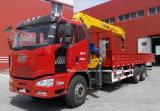 6X4 10 van de Telescopische Vouwbare Ton Vrachtwagen van het Wapen met de Kraan van de Lading