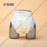Couche-culotte jetable de bébé d'absorptivité superbe