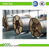 Todos os cabos reforçados do condutor do condutor aço de alumínio ACSR dos tamanhos