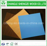 Доска MDF цвета 1220X2440mm меламина украшения мебели голубая