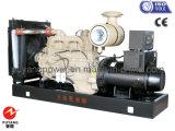 50Hz groupe électrogène diesel refroidi à l'eau triphasé à C.A. Cummins 200kw/250kVA
