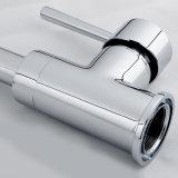 Латунной Faucet смесителя кухни ручки крома установленный палубой одиночный