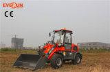 Het Merk van Everun Lader van het Wiel van 1.6 Ton de Chinese Mini met het Hydraulische Blad van de Sneeuw voor Verkoop