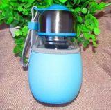 400mlはガラス飲むびん、ガラスビン、水ガラス容器を空ける
