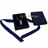 Rectángulo de almacenaje de empaquetado modificado para requisitos particulares de la joyería de papel del regalo