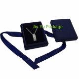 Подгонянная коробка бумажных ювелирных изделий упаковывая