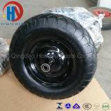 Pneumático de roda de borracha do carrinho de mão de roda