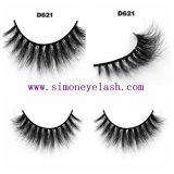 cheveu du vison 3D Eyeashes faux cosmétique pour le renivellement de beauté
