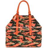 Borse della manopola del doppio della borsa di colore del camuffamento di modo, sacchi di Designable dei sacchi di Tote dell'unità di elaborazione
