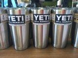 Vaso caliente del Rambler de la venta 2016 taza de cerveza de 30 coches de la onza tazas del Yeti de Tumblerful de la taza de la capacidad grande