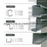 Gekerbter galvanisierter C/Z/U Stahlkanal des Fluss-Stahl-