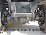 販売のための新しく黄色く小さい保定の地球移動機械装置の車輪の掘削機8.5トンの