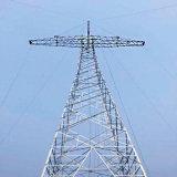 Torre atual do aço de Tarnsmission de uma potência de 800 quilovolts Direcrt