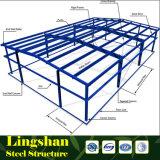 Entrepôt préfabriqué de structure métallique de bâti léger avec la longue envergure