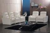 Echtes Lederrecliner-Sofa (706)
