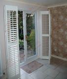 PVC clásico Bifolding y puertas del obturador de la plantación del marco (BHP-AD04)