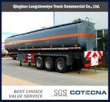 2016 최신 반 알루미늄 45m3 연료 탱크 트레일러, 탱크 트레일러