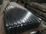 (0.125-1.3mm) Folha galvanizada do aço/telhadura/chapa de aço do telhado