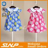 Дети 100% хлопка одевая платье девушки