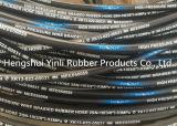 Draad van het staal vlechtte Versterkte Rubber Behandelde Hydraulische Slang (SAE100 R1-1/4)